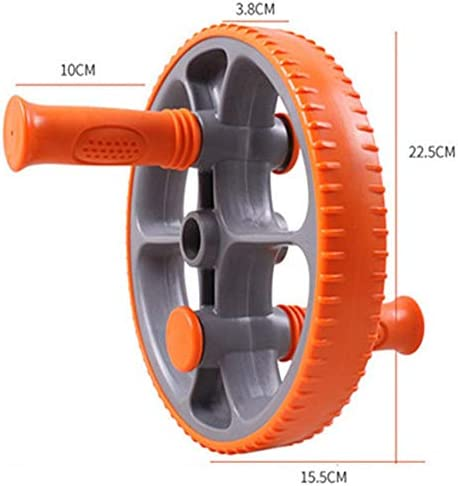 Core & Abdominal Trainers Orange Abdominal Wheel Abdominal Wheel Huge Fitness Roller Mute AB Weight Loss Fitness Equipment For Home Gym Abdominal Trainer Ideal for beginners and experienced people bat 3
