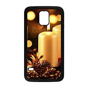 meilz aiaiThe Beautuful Candle Hight Quality Plastic Case for Samsung Galaxy S5meilz aiai