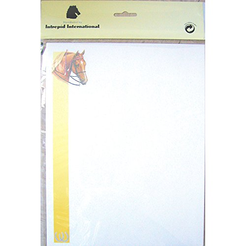 Intrepid International Printer Papaer Dressage Horse Head, 25 (Dressage Horse Head)