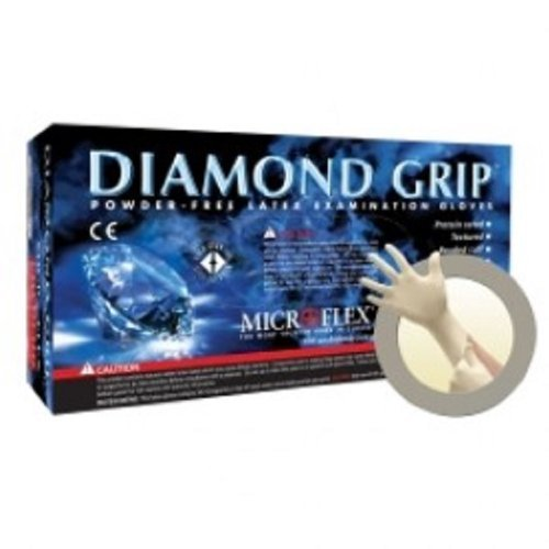 Microflex Diamond Grip Powder-Free Latex Exam Gloves, Extra Large, 100 Gloves per Box, 10 Boxes per Case by RPI, Corp.