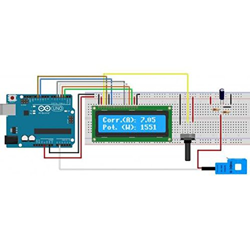JANSANE SCT-013-000 100A Non-invasive AC Current Sensor Split-Core Clamp Current Transformer for Arduino Raspberry pi by JANSANE (Image #5)