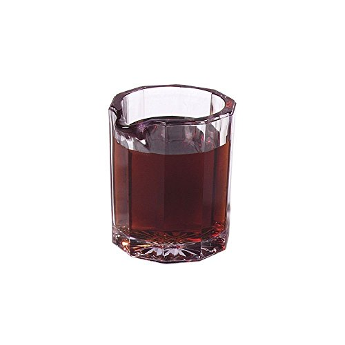 Carlisle 4560-807 Syrup Pitcher Cash and Carry Set, 2 oz, Clear (Pack of 6)