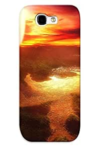 LTiocMU2278LiwhY Case Cover, Fashionable Galaxy Note 2 Case - Fantasy Fantasy Art Artwork