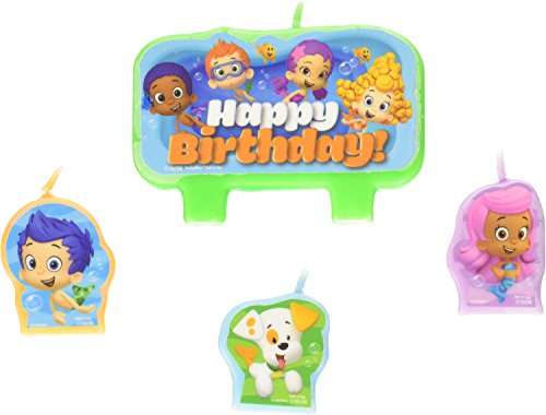 Nickelodeon Bubble Guppies Candle Set -