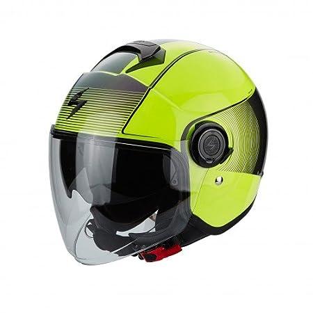 Scorpion Casco Moto EXO-CITY Wind, Neon Yellow/Black, S 2583_26374