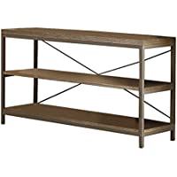 HOMELEGANCE 3224N-05 Wood/Metal Sofa Table/TV Stand, Brown