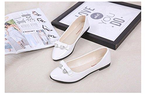 Lazo Zapato con Modelo Mujer Primavera de Nuevo Blanco Gaorui Verano de Pista para de y RAx0nU