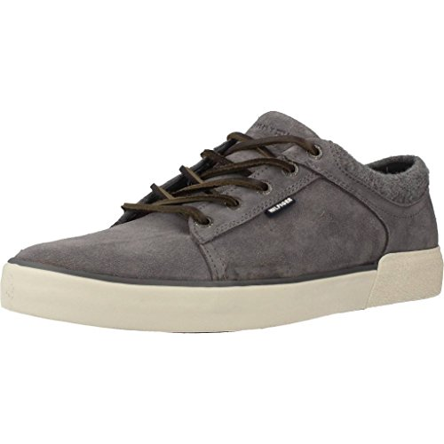 Tommy Hilfiger Willis 1B Sneakers Lacci Pelle Steel Grey FM56821539
