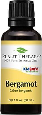 Plant Therapy Bergamot Essential Oil 100% Pure, Undiluted, Therapeutic Grade