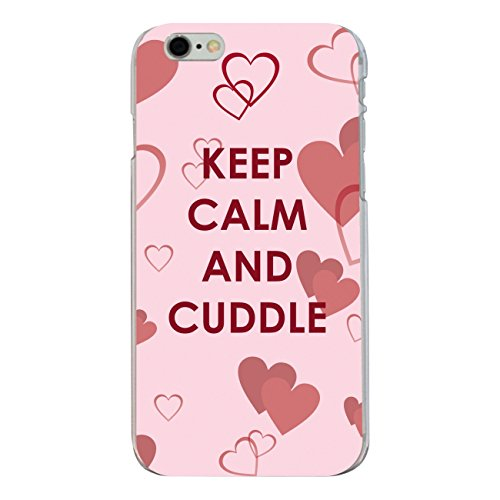 "Disagu Design Case Coque pour Apple iPhone 6s Plus Housse etui coque pochette ""Ceep Calm And Cuddle"""