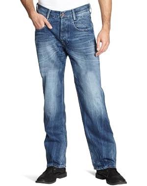 G Star RAW New Radar Low Loose Jeans in Solar Denim, Rugby Wash, Size W30/L32 $160