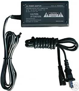 PPJ AC//DC Adapter for JVC Camcorder GR-AXM151 GR-AXM151U GR-AXM151US GR-AXM230 GR-AXM230U GR-AXM230US GR-AXM341 GR-AXM341U GR-AXM341US Power Supply Cord Cable PS Charger Input 120V AC 100V 240