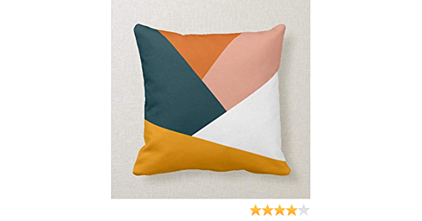 Japanese inspired cushion cover 19.6X11.8 inch Modern home decor accessory Rotem Geometric inspired cushion Cream textured pillow cover