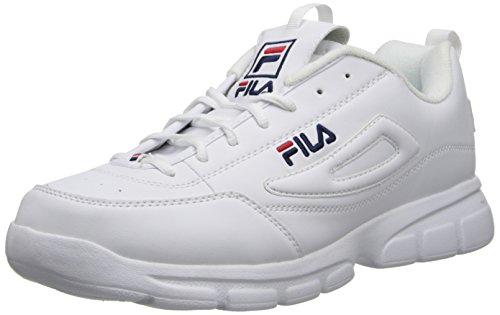 Fila Mens Disruptor SE Training Shoe White/Fila Navy/Fila Red