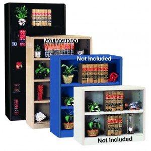 Shelf Radius Edge Bookcase - Sandusky Lee BA4R361872-09 Elite Series Radius Edge Welded Bookcase, 18