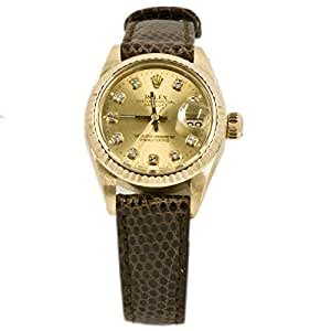 Rolex Datejust automatic-self-wind womens Watch 6927 (Certified Pre-owned)