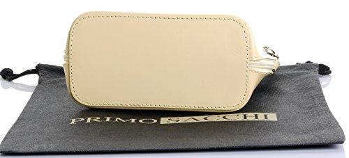 nbsp;Comprend protecteur sac la Sacchi sac en main main italien cuir de rangement à sac bandoulière de Citron Primo ou Petit à marque de peinte un qa11PE
