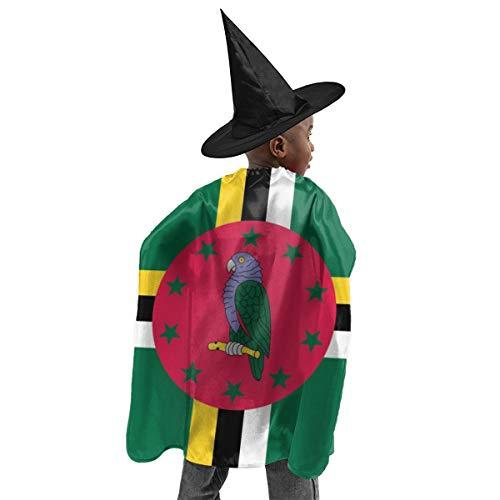 YUIOP Deluxe Halloween Children Costume Dominica Flag