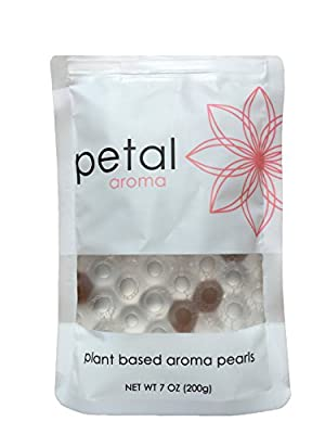 Sandalwood Plant-Based Aroma Pearls. A Natural, Non-Toxic Home Fragrance & Air Freshener (3 Pack)