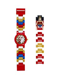 Lego DC Comics 8020271 Super Heroes Wonder Woman Kids Minifigure Link Buildable Watch
