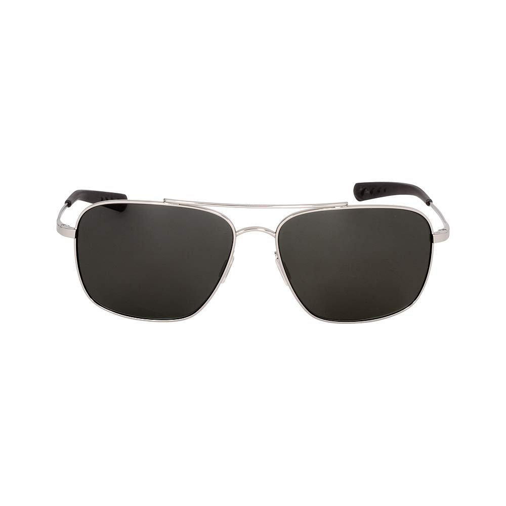 Costa Del Mar CAN21OGGLP Canaveral Sunglasses Shiny Palladium Frame, One Size