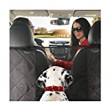 Dog Car Seat Cover Hammock Style and Cargo Liner for STANDARD SIZE Cars and SUV's .The Original Design You Can See Your Pet & Your Pet Sees You with The Clearview Window-Keeps Your Pet Calm (Regular) Review