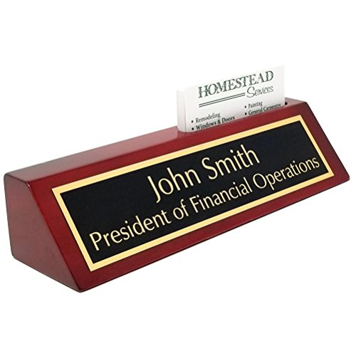 Personalized Business Desk Nameplate (Desk Piano Nameplate)