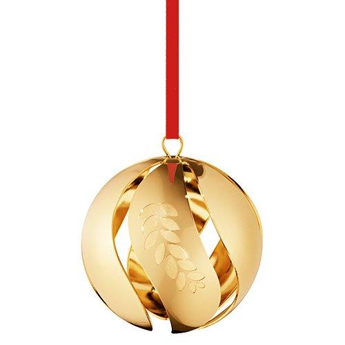 (Georg Jensen 3589616 Christmas Ornament 2016, Ball)