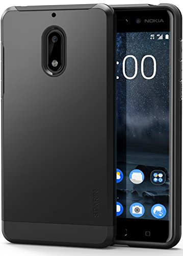 Nokia 6 Case- 2017 Release, SPARIN [Hard PC + Soft TPU] Dual Layer Protective Case for Nokia 6 – Scratch Resistant/Shock Absorption/Anti Dust