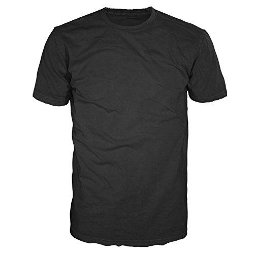 FSD Basic Plain Crew Neck Short Sleeve T-Shirts for Men (Value Pack of 4)