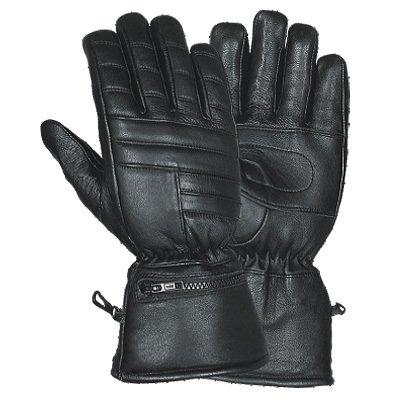(Motorcycle Biker Gauntlet Rain Cover Gloves Large )
