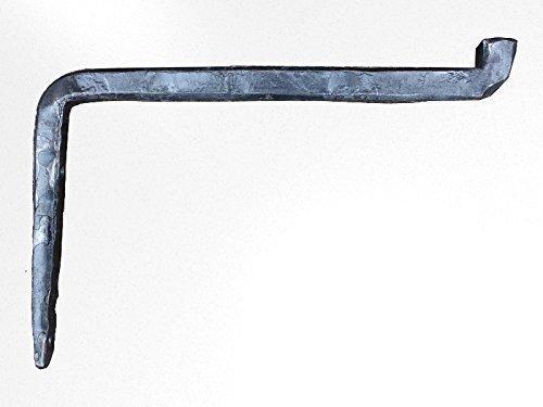 Shelves Bracket handmade forge, industrial style 3/4″. (IND-1)