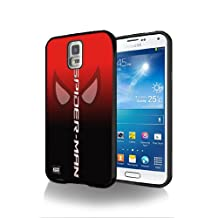Spiderman Comic Movie SM03 Case Cover Protection for Samsung Galaxy S5 Black Silicone