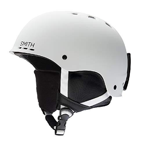 Smith Optics Unisex Adult Holt Snow Sports Helmet - Matte White Medium (55-59CM) ()