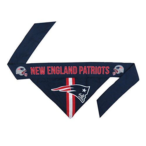 NFL New England Patriots Pet Bandanna, Small