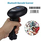 Farway Wireless Barcode Scanner USB Bluetooth Pos Label Reader for iOS Android Windows