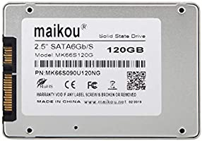 kesoto SSD 120GB Unidad De Estado Sólido SATA3 De 2.5 Pulgadas ...