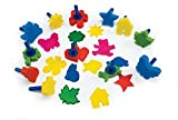 Colorations Stumpy Stumpy Sponge Stampers (Pack of 12)