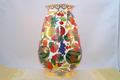 Beautiful Cloisonne Vase#CI002