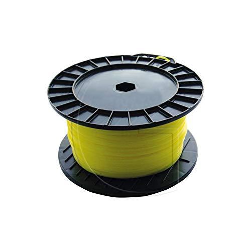 Hilo Nylon Redondo desbrozadora diámetro 2 mm x 130 m ...