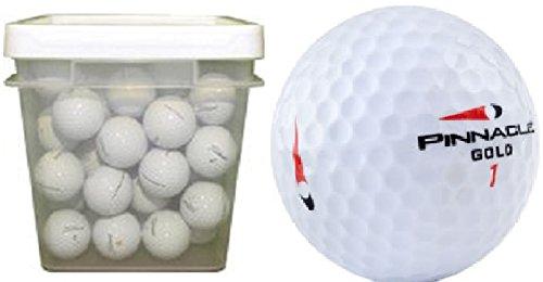 Pinnacle Mix 50ボールバケットusedゴルフボール B00OTV2GK8