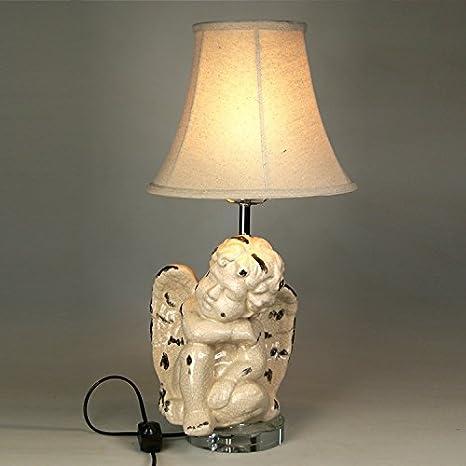 Amazon.com: Continental bedroom Art Deco table lamp: Home ...