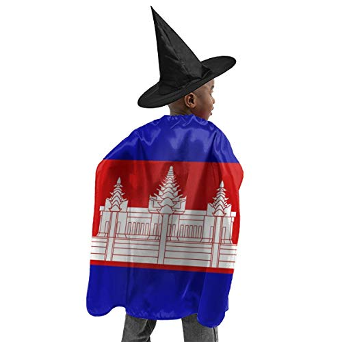 YUIOP Deluxe Halloween Children Costume National Flag