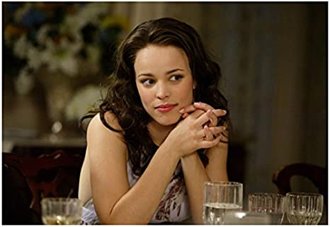 Wedding Crashers Rachel Mcadams Claire Smiling Seated At Table 8 X 10 Inch Photo At Amazon S Entertainment Collectibles Store