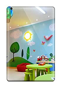 Faddish Phone Colorful Kids Playroom With Wall Mural And Hanging Chair Case For Ipad Mini/mini 2 / Perfect Case Cover