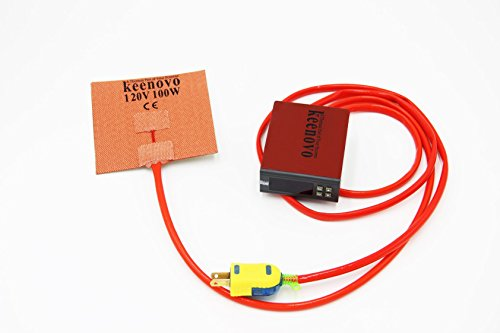 KEENOVO Silicone Heater for M3D Micro 3D Printer Heated Build Plate Upgrade...