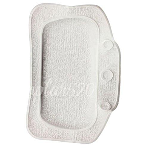 White-Soft-Foam-Bath-Pillow-Spa-Body-Support-Headrest-Comfort-Cushion-WHWQ163