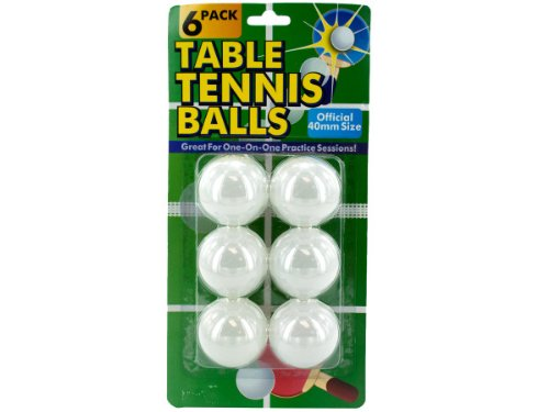 Bulk Buys KK029 Table Tennis Balls Case of 144 by bulk buys