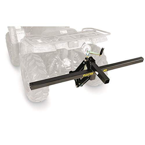 Black Boar ATV/UTV, Manually Lift and Lower Implements with Handle or Actuate Using a Drill and Socket ()