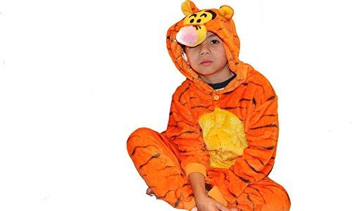 Jadeys Children's Animal Costume Onesies Sleepers Pyjamas by (Tigger, (Tigger Costume Child)